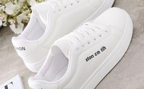 淘宝集运转运到美国休闲鞋 休闲小白鞋 平底 明星同款 百搭款 秋季 韩版 新款