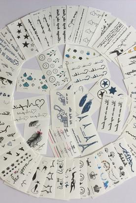 新加坡国内快递到纹身贴纸 持久 防水 个性 性感 女款时效