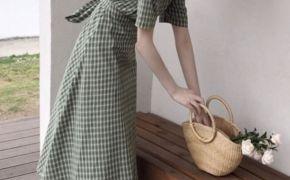 淘宝集运转运到英国显瘦连衣裙 收腰 名媛 气质 性感 文艺 女神范 百搭 精致 明星同款 新款