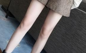 淘宝集运转运到日本毛呢短裤 高腰 呢子 宽松 休闲 条纹 秋冬 韩版