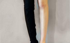 淘宝集运转运到德国靴子 过膝长靴 高筒 平底 秋冬季 弹力 百搭显瘦 新款