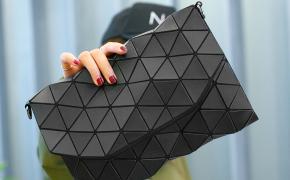 淘宝集运转运到澳大利亚手拿包 信封包 菱格 折叠 几何 学院风 新款