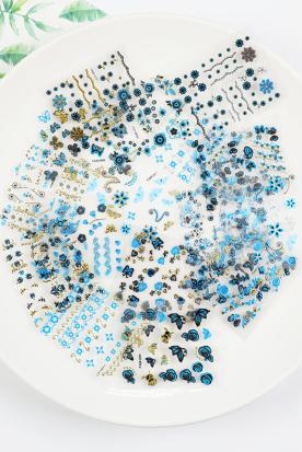 日本国内快递到美甲贴纸 指甲贴纸 环保 防水 日系 立体时效
