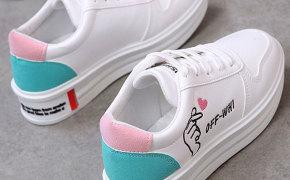 淘宝集运转运到法国厚底休闲鞋 同款 百搭 秋季 韩版 新款