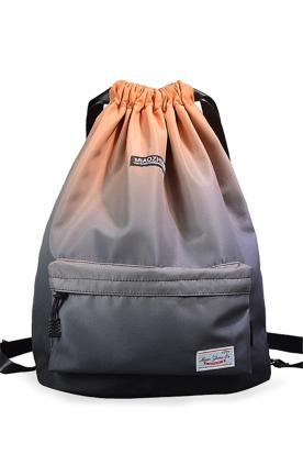 加拿大国内快递到双肩包背包 轻便 防水 通用 抽绳 明星同款时效
