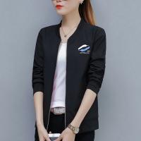 华人代购转运棒球外套 两面穿 短款 大码 女士 修身 韩版