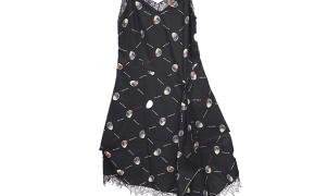 淘宝集运转运到澳大利亚高品质绸缎蕾丝吊带衫女吊带连衣裙CS-1023