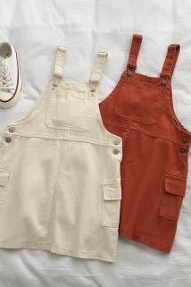 邮多多淘宝集运转运小个子a字短裙夏季2019新款女装韩版学生无袖气质牛仔背带连衣裙
