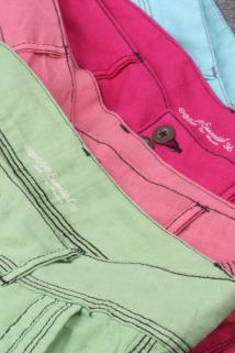邮多多淘宝集运转运法国 亚麻女士休闲裤 九分裤和长裤随机发