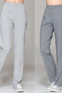 邮多多淘宝集运转运夏季薄款高腰白色运动裤女长裤夏天直筒纯棉宽松全棉休闲中年女式