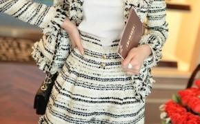 淘宝集运转运到新西兰毛呢短裤女潮春 秋装新款韩版气质条纹花呢淑女气质高腰裤休闲裤