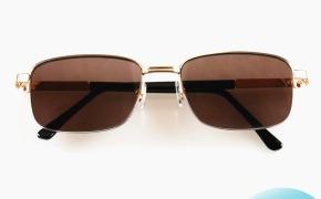 淘宝集运转运到荷兰正品时尚水晶眼镜男 养眼墨镜水晶石太阳镜 清凉石头镜茶色平光镜