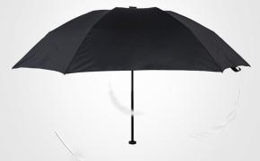淘宝集运转运到新西兰台湾福太伞超轻太阳伞降温黑胶防紫外线遮阳伞女防晒小黑伞羽毛伞