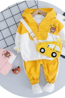 邮多多淘宝集运转运0-1-2岁半男女童长袖套装6-9个月宝宝纯棉衣服婴儿童装6小童秋装9
