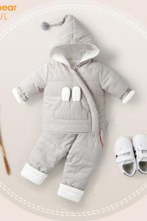 邮多多淘宝集运转运婴儿棉衣套装1-3岁男冬装棉袄衣服女宝宝保暖儿童反季秋冬季棉服
