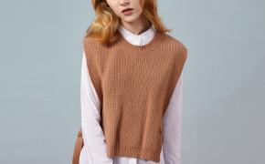 淘宝集运转运到新加坡IAmMIX27女装毛衣衬衫两件套女士秋冬文艺休闲圆领套头针织衫套装