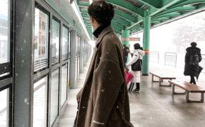 淘宝集运转运到新西兰冬季新款韩版呢大衣男中长款宽松毛呢加厚情侣风衣呢子保暖外套潮