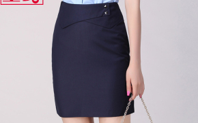 淘宝集运转运到法国新款修身包臀短裙女士职业装半身裙职业OL工作西装裙一步裙小黑裙