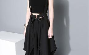 淘宝集运转运到法国欧洲站夏季潮流新款女装女士吊带半遮裙半身裙1431
