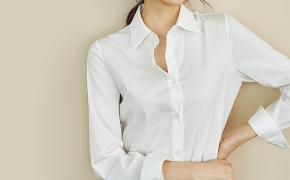 淘宝集运转运到德国西野妮白色衬衫女长袖宽松韩版休闲面试商务时尚黑色衬衣女职业装