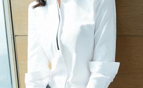 淘宝集运转运到德国白色衬衫女2020新款韩版宽松长袖职业正装加绒撞色衬衣工作套装