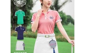淘宝集运转运到加拿大高尔夫短袖T恤女士夏修身气质韩版速干夏装短裙百搭显瘦运动套装