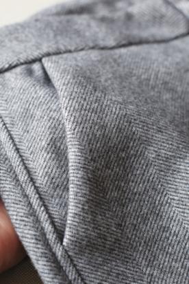 菲律宾国内快递到冬季加厚毛呢哈伦裤女小脚萝卜裤大码九分宽松休闲直筒奶奶西装裤时效
