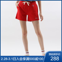 华人代购转运新西兰Champion冠军女士小C LOGO 抽绳休闲短裤