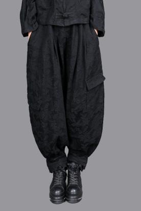 香港国内快递到2020春款款复古文艺棉麻女士宽松灯笼女长裤休闲裤时尚哈伦女裤时效
