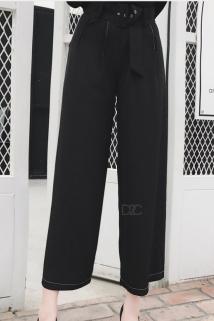 邮多多淘宝集运转运【HERAVELLING】HV-1772010春季女士休闲裤九分裤长裤子ZB1064