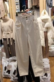 邮多多淘宝集运转运韩国东大门代购2019新款St I-S 女士简洁插袋休闲裤均码
