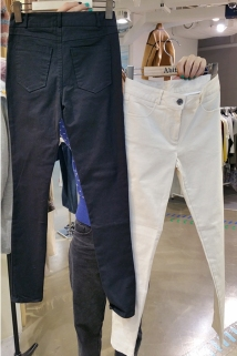 邮多多淘宝集运转运韩国东大门代购2020新款ABITO 女士修身百搭休闲裤S/M码
