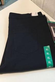 邮多多淘宝集运转运纽约大宝 Gloria Vanderbilt 女士新款简约纯色直筒紧身休闲裤