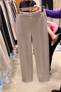 邮多多淘宝集运转运韩国代购东大门新款女装aloha-S 女士插袋时尚经典休闲裤均码