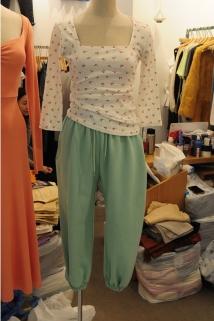 邮多多淘宝集运转运韩国东大门代购2020新款GRETA 女士百搭宽松休闲裤均码