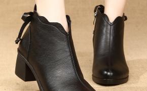 淘宝集运转运到西班牙茵妈妈棉鞋女冬季加绒保暖中年中跟短靴防滑中老年女鞋舒适女士棉