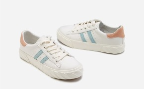 淘宝集运转运到墨西哥热风春季新款女士板鞋休闲鞋深口潮流小白鞋