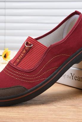 意大利国内快递到赛格女士老北京布鞋女正品奶奶鞋中年休闲工地干活穿的鞋子一脚蹬时效