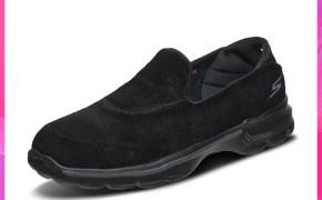 淘宝集运转运到韩国Skechers斯凯奇女士奶奶鞋一脚蹬懒人鞋舒适缓震健步休闲鞋 14035