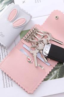 邮多多淘宝集运转运韩版可爱钥匙包女式小巧迷你精致高档个性简约收纳锁匙包小香卡包