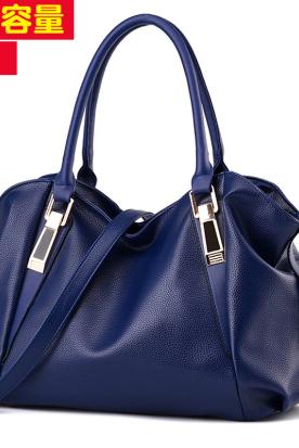 韩国国内快递到大容量软包2020新款女包休闲时尚女手提包斜挎单肩包女士软皮大包时效