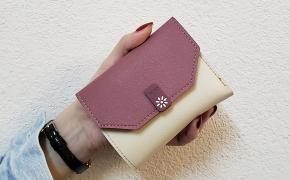 淘宝集运转运到荷兰ins新品韩版小清新少女心可爱撞色信封短款女学生卡包女士零钱包