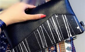 淘宝集运转运到韩国手拿包女真皮2020新款斜挎包百搭时尚手包女士小包信封包名媛包