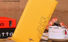 淘宝集运转运到日本真澳 袋鼠女士钱包长款拉链真皮钱夹女2019新款时尚牛皮韩版皮夹