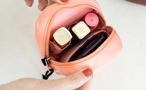 淘宝集运转运到意大利旅行化妆包小号立体便携迷你口红包随身唇膏唇彩收纳袋女式补妆包