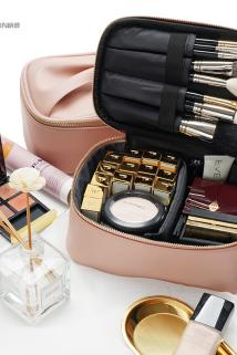 邮多多淘宝集运转运化妆包女大容量便携小随身多功能网红同款收纳包气质旅行lolita