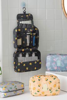 邮多多淘宝集运转运旅行出差收纳包大容量挂钩洗漱包女化妆包防水便携可折叠整理袋