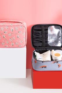邮多多淘宝集运转运2019新款ins网红化妆包便携随身收纳包韩国小号简约少女心化妆包