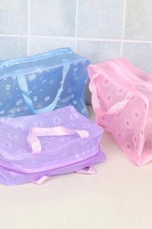 邮多多淘宝集运转运便携旅行迷你PVC防水化妆收纳包女性姨妈巾多功能收纳家用洗漱袋
