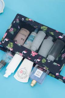 邮多多淘宝集运转运旅行化妆包小号便携韩国简约大容量多功能洗漱品可爱少女心收纳袋
